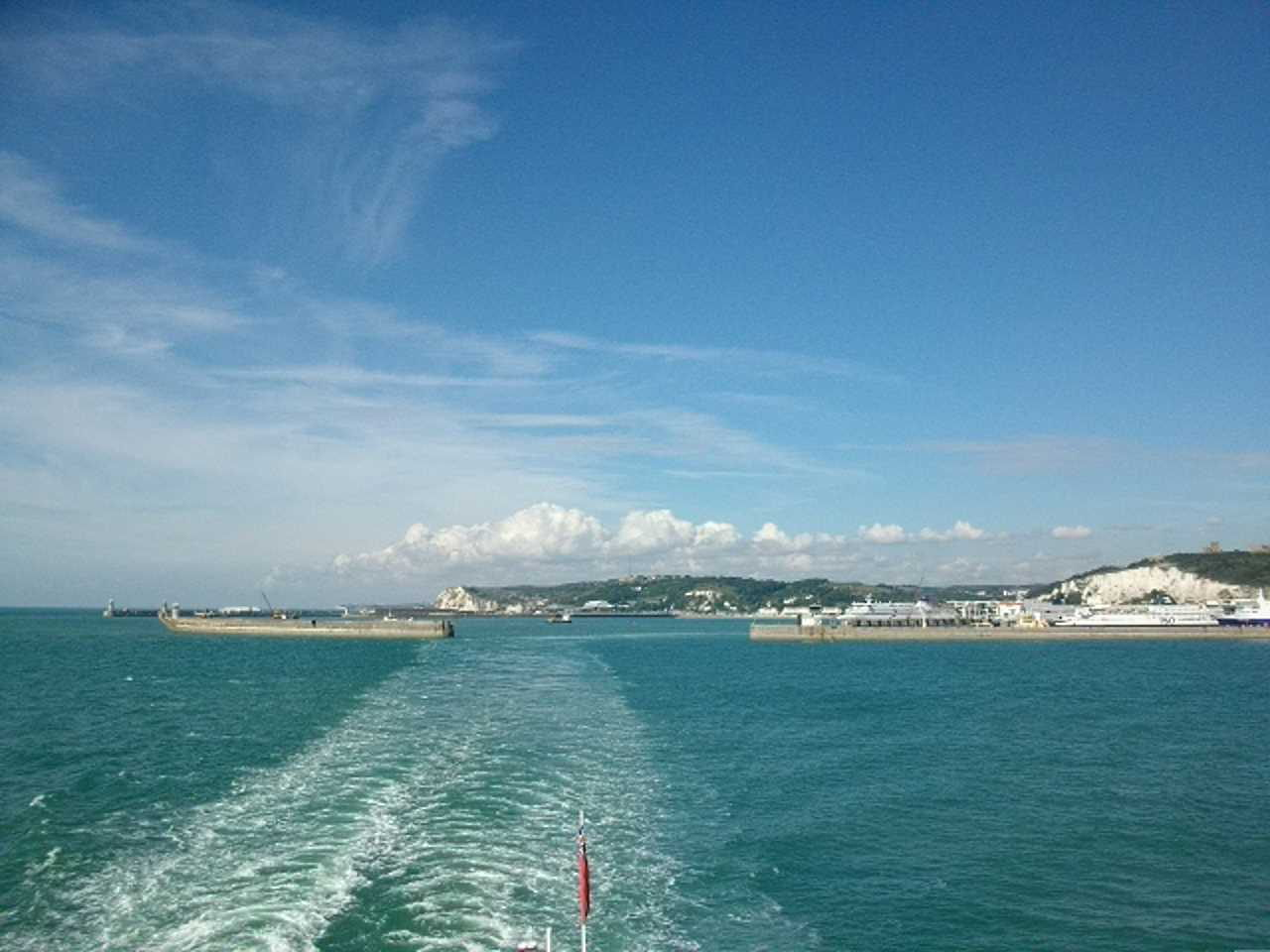Leaving Dover harbour #2