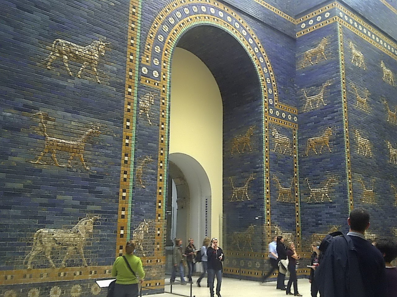 Ishtar Gate, left view