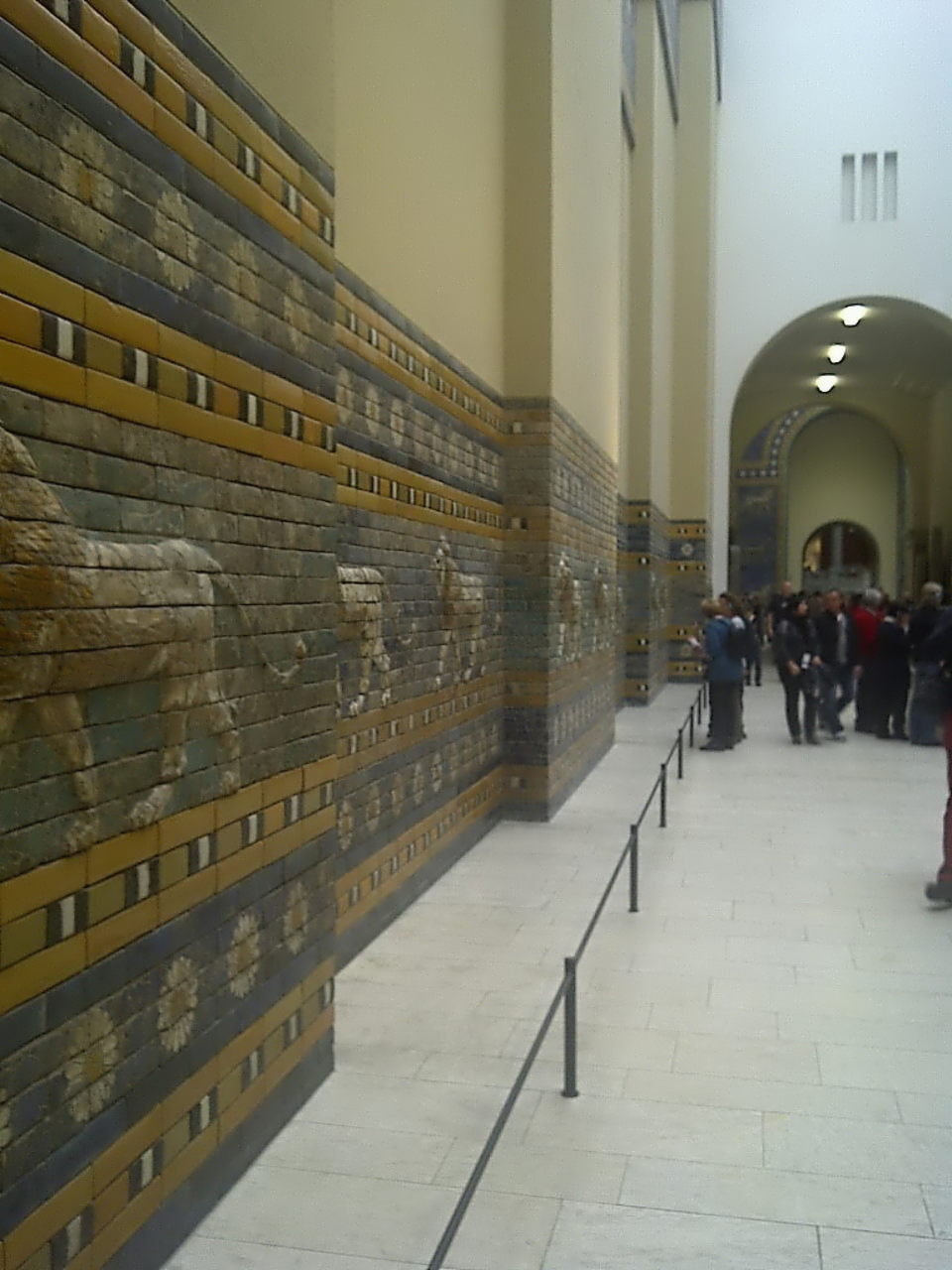 Ishtar Gate, procession street, left view #1