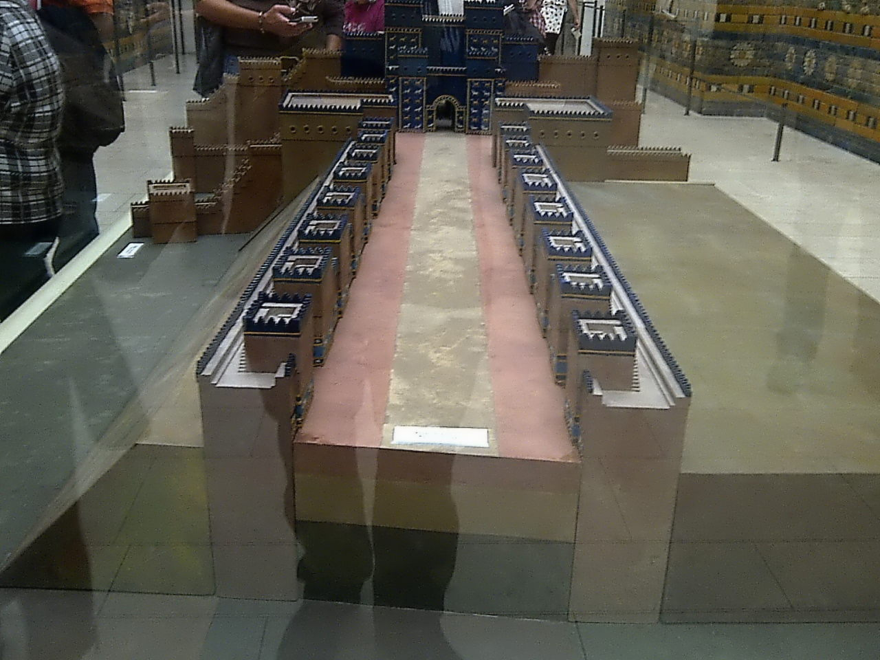 Ishtar Gate, procession street model