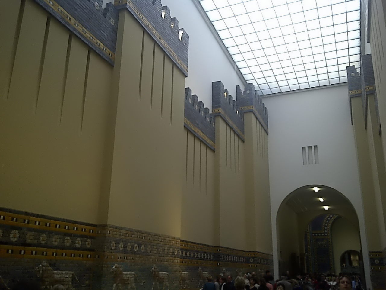 Ishtar Gate, procession street, walls and towers #1