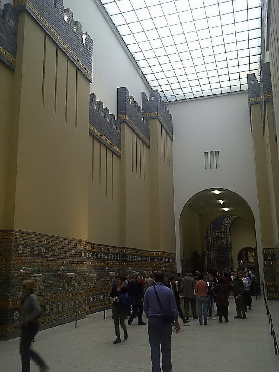 Ishtar Gate, procession street, walls and towers #2