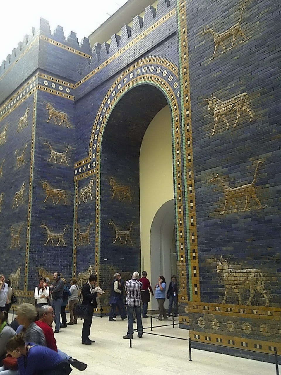 Ishtar Gate, right view