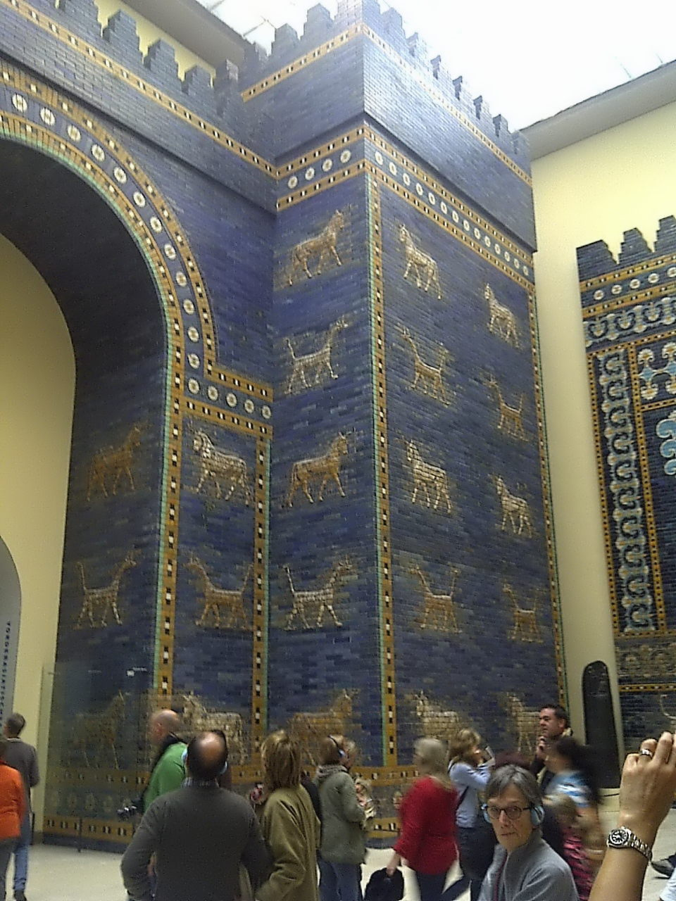 Ishtar Gate, tower