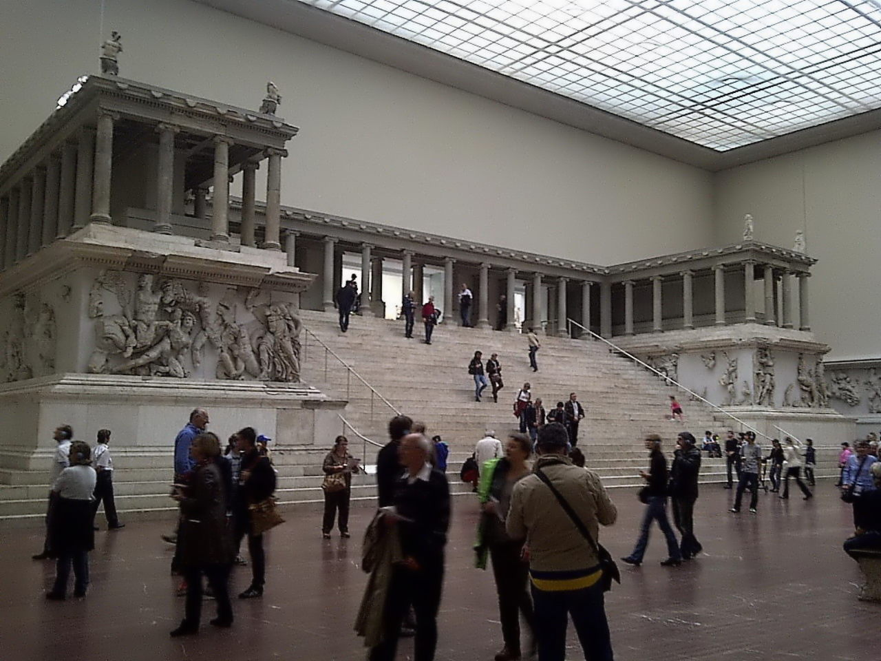 Pergamon Altar, left front view