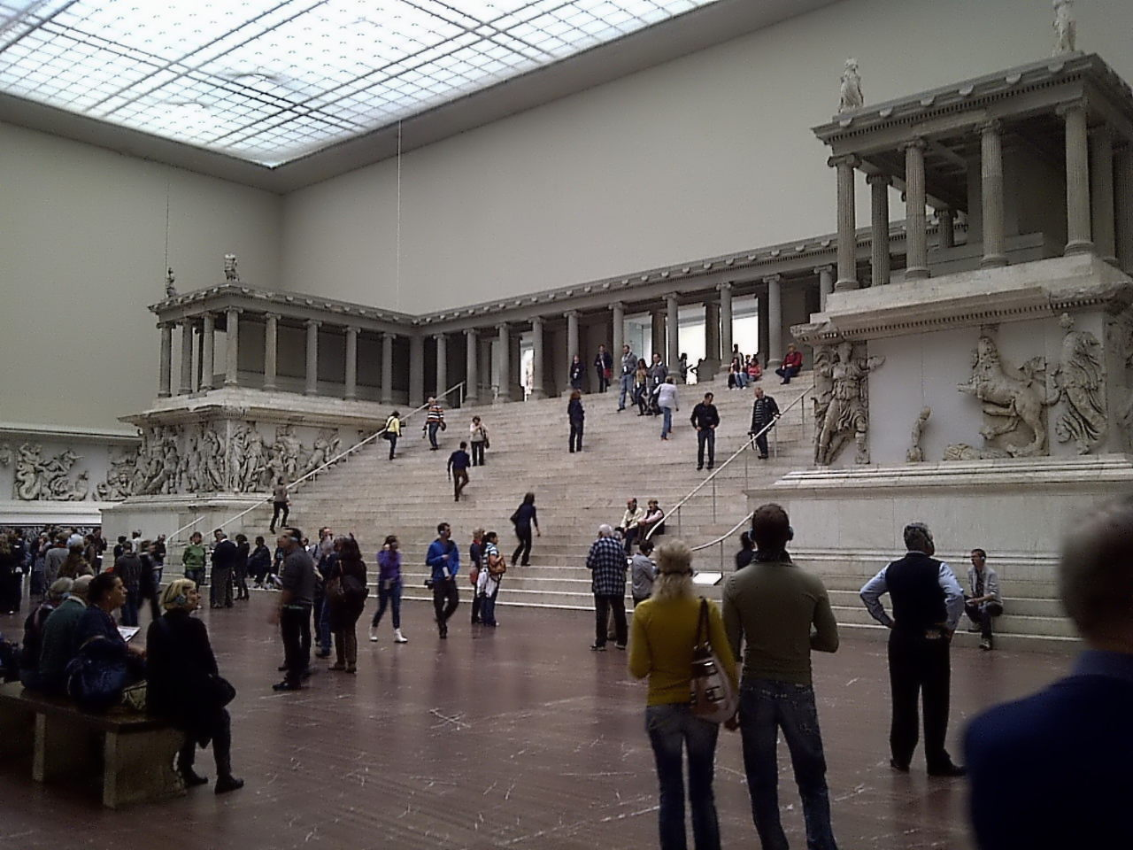 Pergamon Altar, right front view