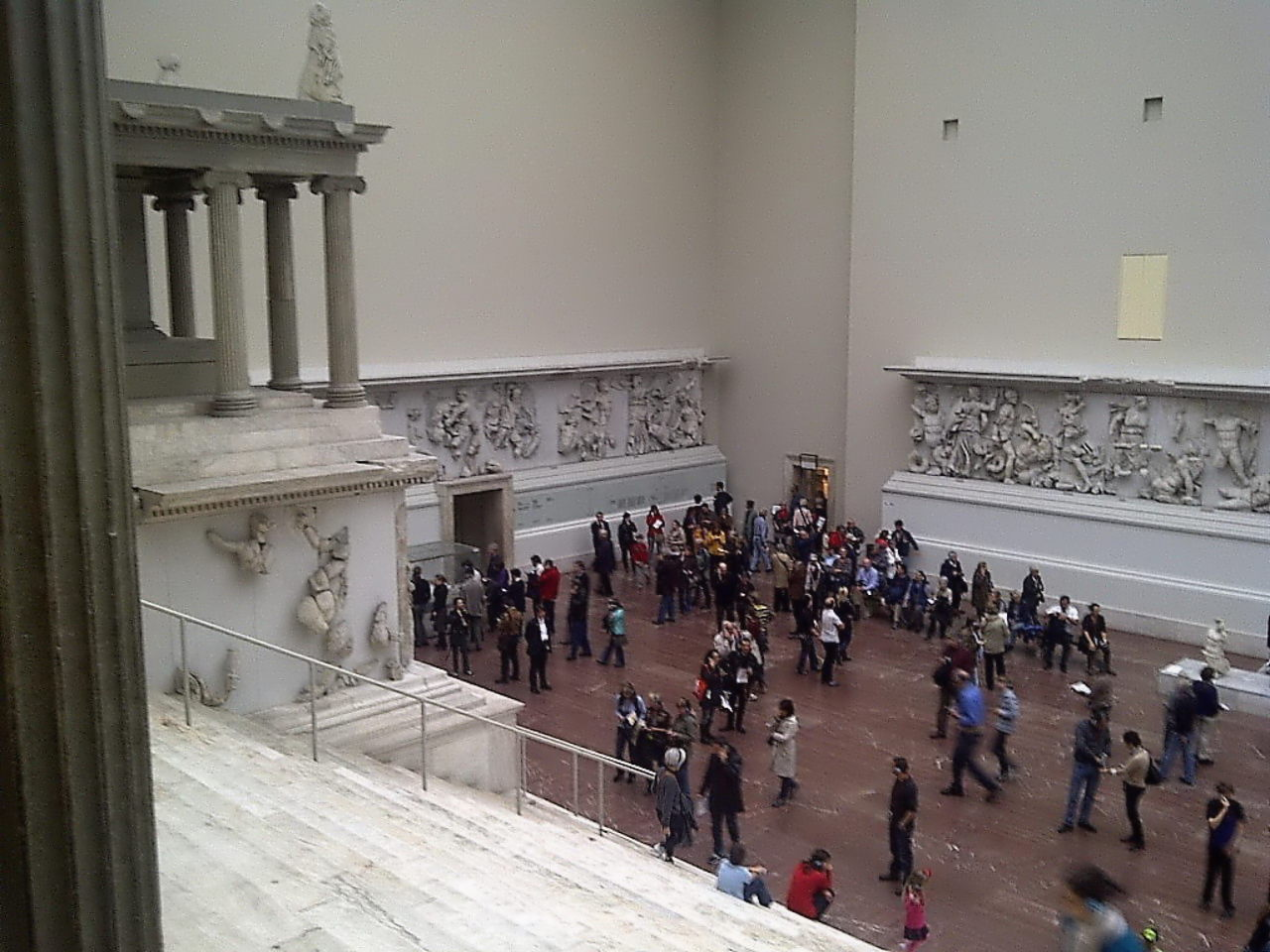 Pergamon Altar, view from stairs