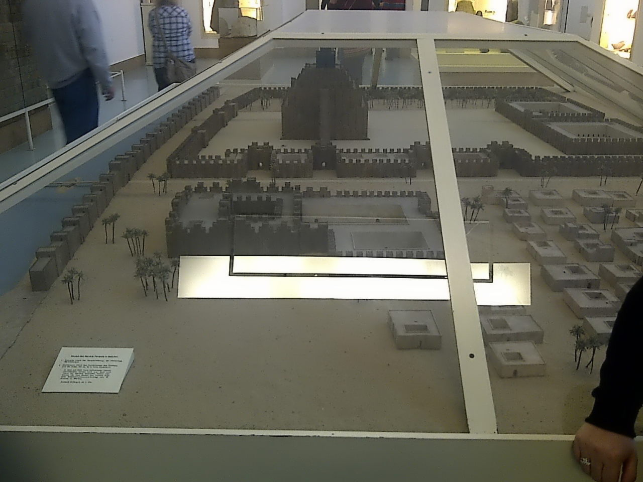 Pergamon Museum, City of Uruk with Ziggurat model