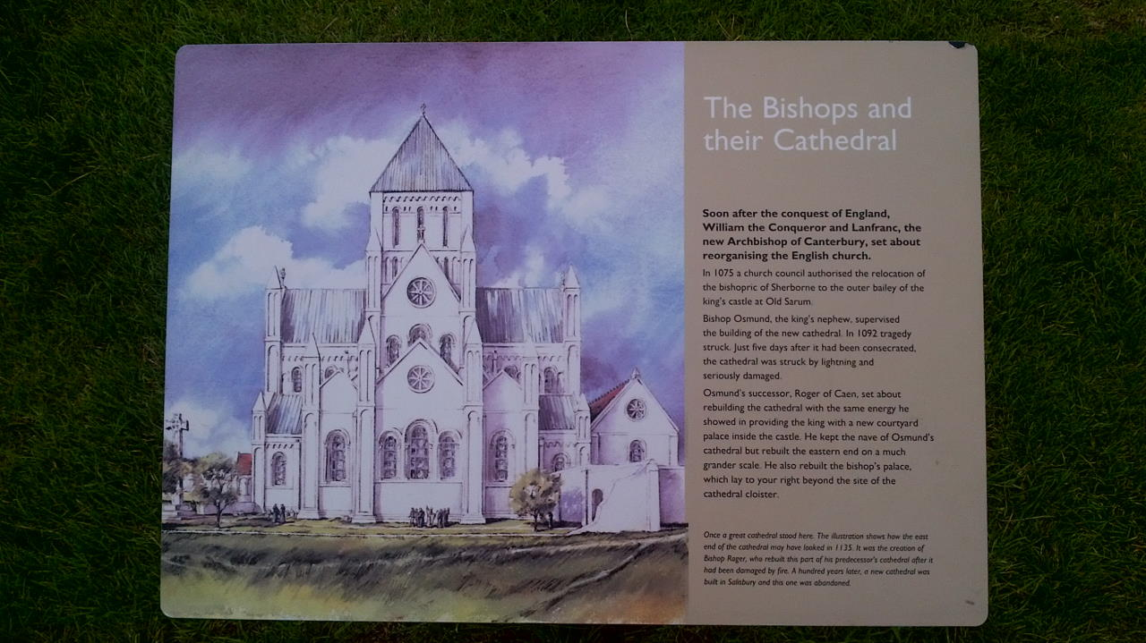 Old Sarum, The Bishops and their Cathedral