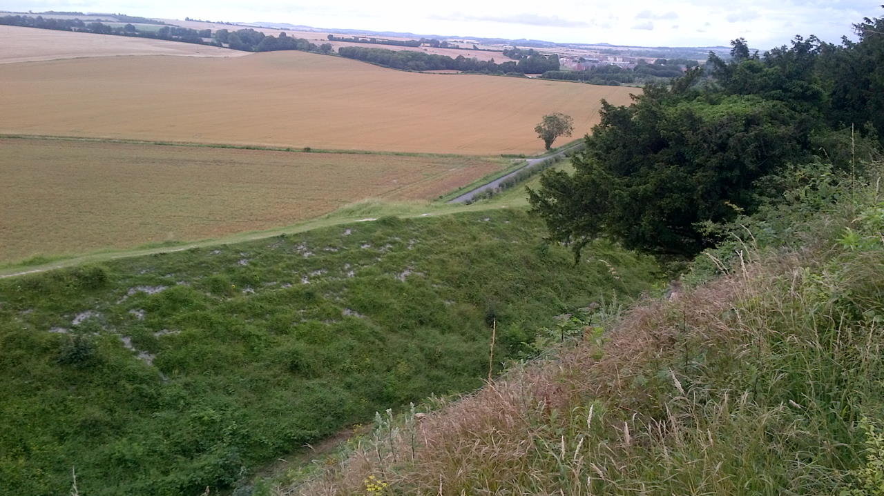 Old Sarum, The hidden Cathedral, landscape #1