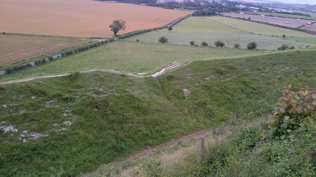 Old Sarum, The hidden Cathedral, landscape #2