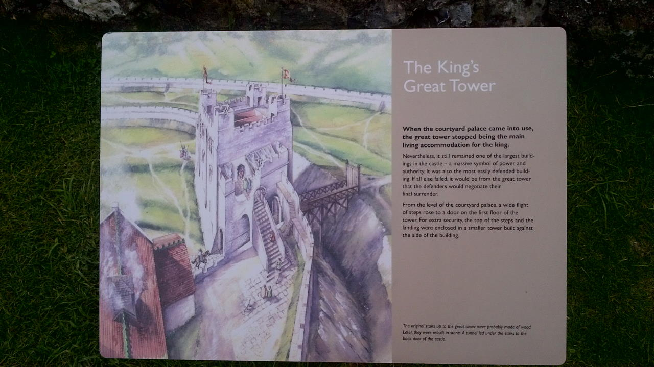 Old Sarum, The Kings's Great Tower