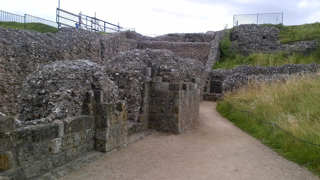 Old Sarum, The privileged few, entrance