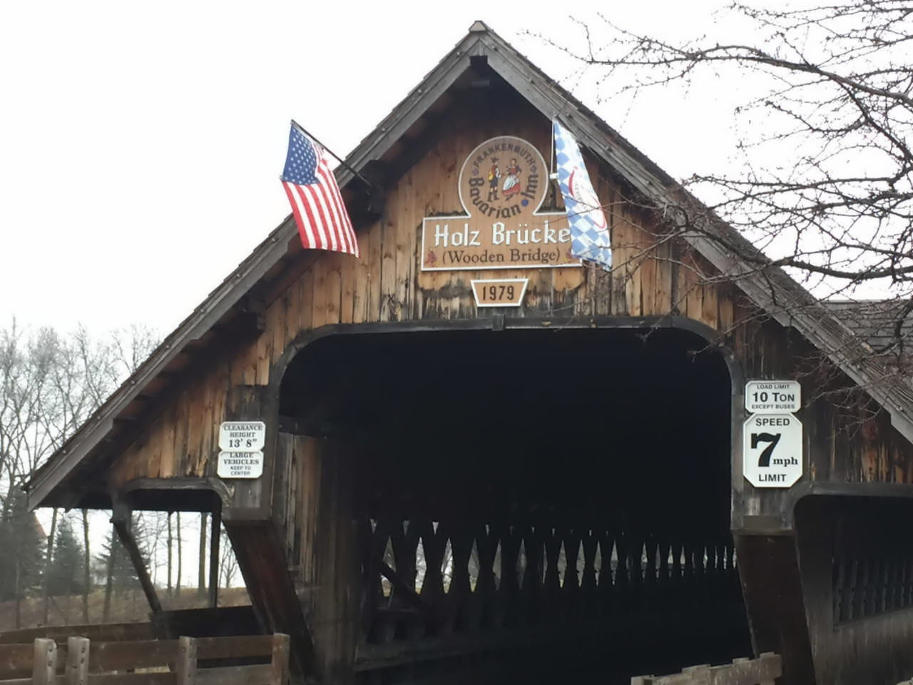 Frankenmuth, Wooden Bridge