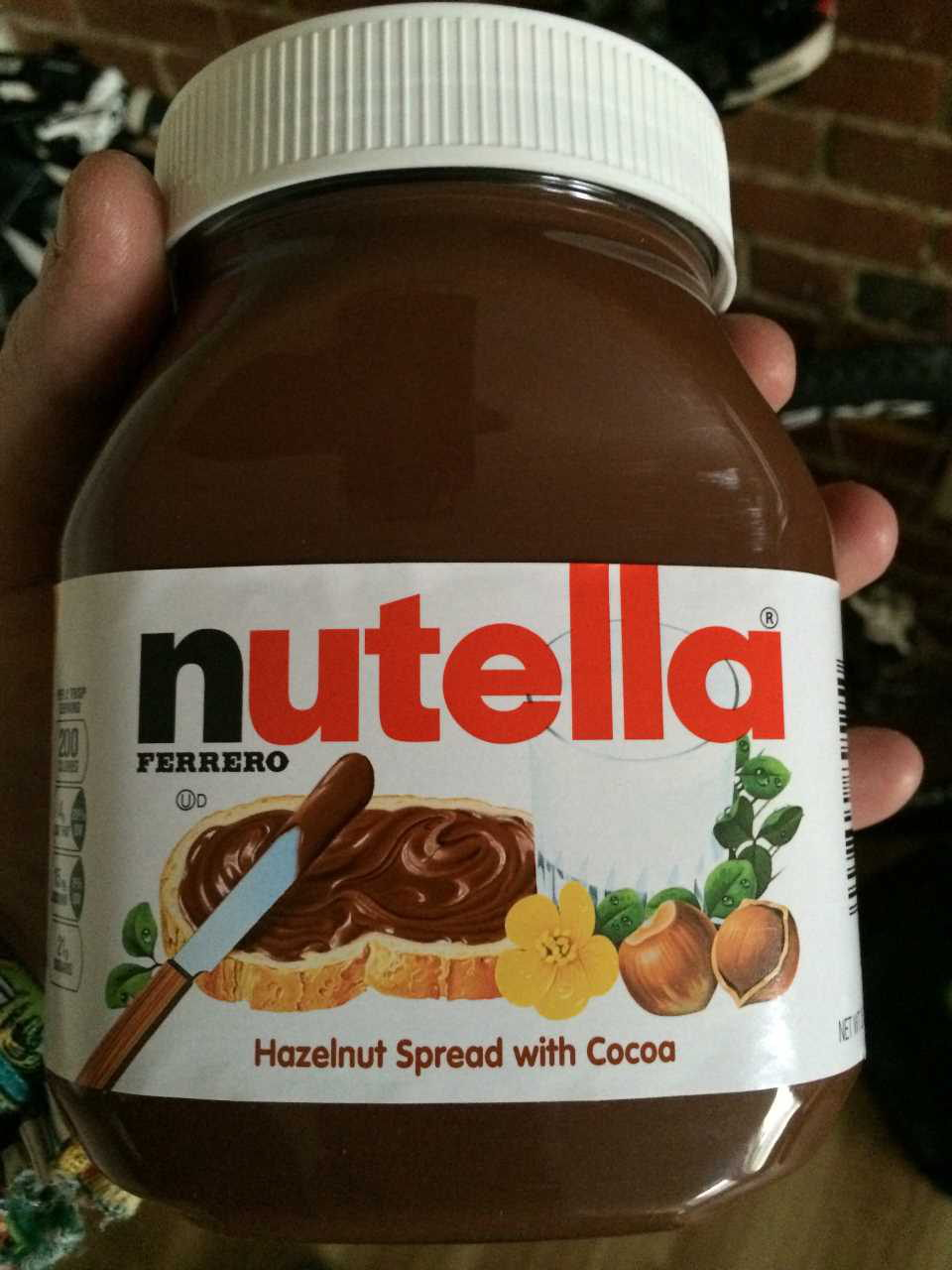 US Nutella Hazelnut Spread with Cocoa