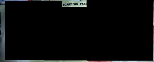 Secure Boarding pass
