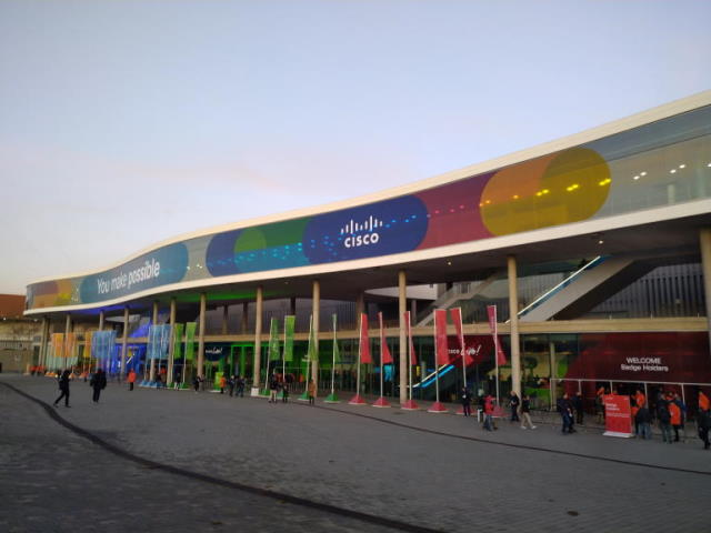 Cisco Live 2020 Barcelona, Day 1