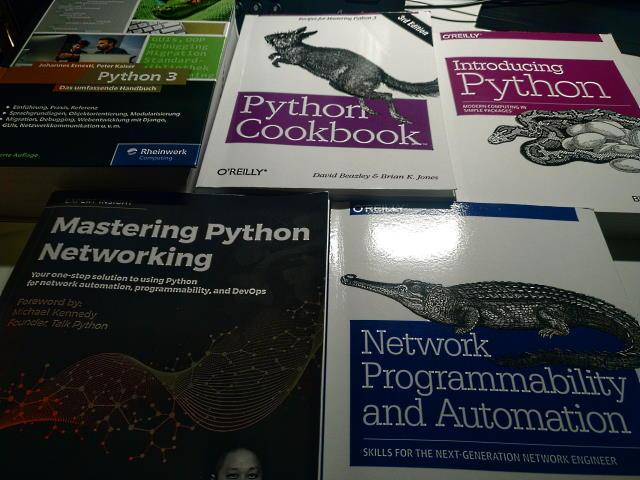My Python and Network Automation books