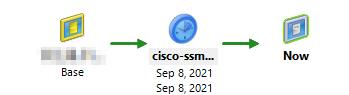 Cisco SSM On-Prem: VM snapshot in XCP-NG