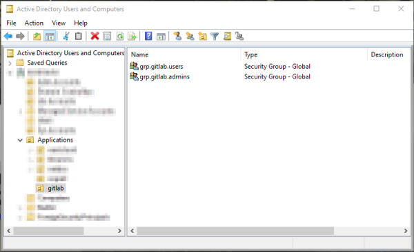 GitLab Active Directory User Groups